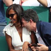 Karine Le Marchand et Stéphane Plaza : Duo complice et rieur à Roland-Garros !