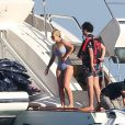 Iggy Azalea en vacances entre amis à Cabo San Lucas au Mexique, le 5 juin 2017