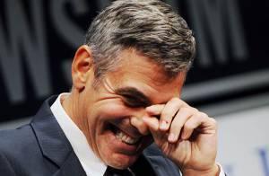 Quand George Clooney a un fou rire... avec son père !