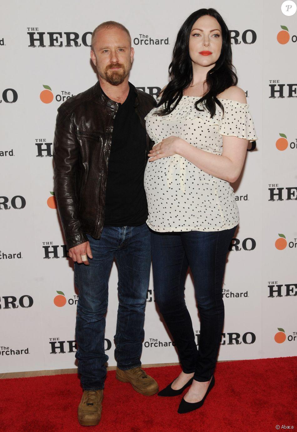 7ed8d147e9ab5 Ben Foster et Laura Prepon (vêtue d'un top de la marque française Envie