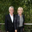 Claude Sérillon et sa femme Catherine Ceylac au village des Internationaux de Tennis de Roland Garros à Paris le 8 juin 2017 © Cyril Moreau-Dominique Jacovides/Bestimage