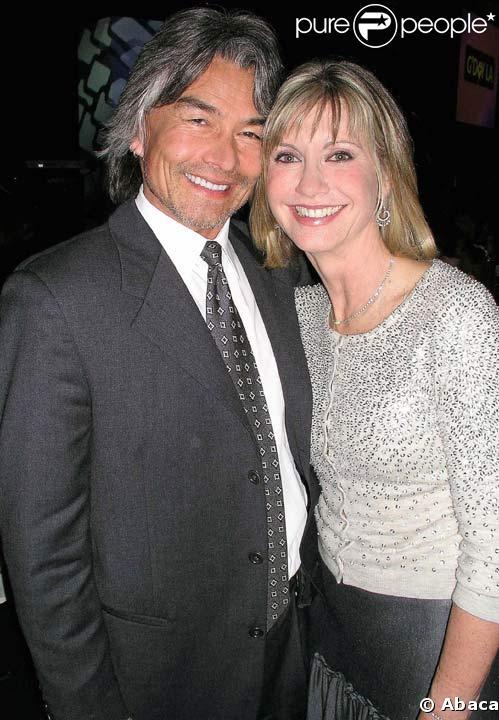 Olivia Newton-John avec Patrick McDermott en 2005