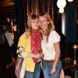 Yasmine & Sarah Lavoine à l'inauguration de la terrasse du restaurant de l'hôtel & spa Le Roch, à Paris le 7 juin 2017