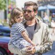 Exclusif - Scott Disick est allé déjeuner au Sugarfish Sushi avec sa fille Penelope à Calabasas, le 7 juin 2017