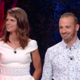 """Clémentine et Frédéric - Finale de """"Koh-Lanta Cambodge"""" sur TF1, le 16 juin 2017."""