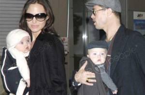 VIDEO : Les jumeaux de Brad Pitt et Angelina Jolie sont encore plus craquants... en vidéo ! Regardez !