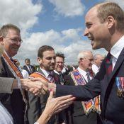 Prince William, ému, rompt le protocole royal et rappelle le souvenir de Lady Di