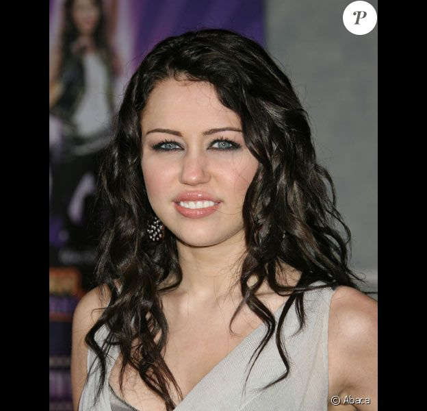 Miley Cyrus de la série Hannah Montana