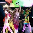 Miley Cyrus en concert pour la série Hannah Montana
