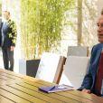 Le président de la République française a reçu l'ancien gouverneur de Californie et acteur au palais l'Elysée à Paris, France, le 23 juin 2017. © Eliot Blondet/Pool/Bestimage