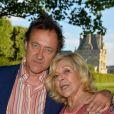 Nicoletta et son mari Jean-Christophe Molinier - Ouverture de la 34ème Fête foraine des Tuileries au jardin des Tuileries à Paris, France, le 23 juin 2017. © Coadic Guirec/Bestimage