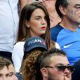 Erika Choperena (Compagne de Antoine Griezmann) lors du match de la finale de l'Euro 2016 Portugal-France au Stade de France à Saint-Denis, le 10 juillet 2016. © Cyril Moreau/Bestimage