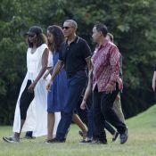 Barack Obama : En vacances en famille, direction l'Indonésie