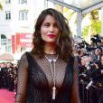Laetitia Casta à la montée des marches de la soirée du 70e Anniversaire du Festival International du Film de Cannes, le 23 mai 2017. © Giancarlo Gorassini/Bestimage