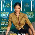 Laetitia Casta en couverture de ELLE, numéro du 30 juin 2017.