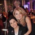 Nicole Weinbaum et Madame Hariri à la soirée des 10 ans de l'association Innocence en danger