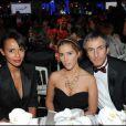Sonia Rolland,Vahina Giocante et le milliardaire russe Umar à la soirée des 10 ans de l'association Innocence en danger