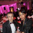 Sonia Rolland et le milliardaire ruse Umar à la soirée des 10 ans de l'association Innocence en danger