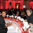 Sonia Rolland et Elie Chouraqui à la soirée des 10 ans de l'association Innocence en danger