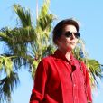 """La princesse Caroline de Hanovre durant la 1ère """"F(ê)aites de la Danse"""" sur la Place du Casino à Monaco le 1er juillet 2017. © Claudia Albuquerque/Bestimage"""