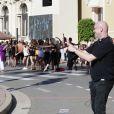 """Jean-Christophe Maillot, le directeur et chorégraphe des Ballets de Monte Carlo, durant la 1ère """"F(ê)aites de la Danse"""" sur la Place du Casino à Monaco le 1er juillet 2017.© Claudia Albuquerque/Bestimage"""