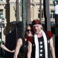 Bernice Coppieters (maître de ballet principal) et Glen Tuggle (maître de ballet) durant la 1ère F(ê)aites de la Danse sur la Place du Casino à Monaco le 1er juillet 2017.  © Claudia Albuquerque/Bestimage