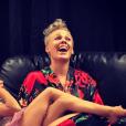 Pink et sa fille Willow après le Summerfest dans le Wisconsin - Photo publiée sur Instagram le 3 juillet 2017
