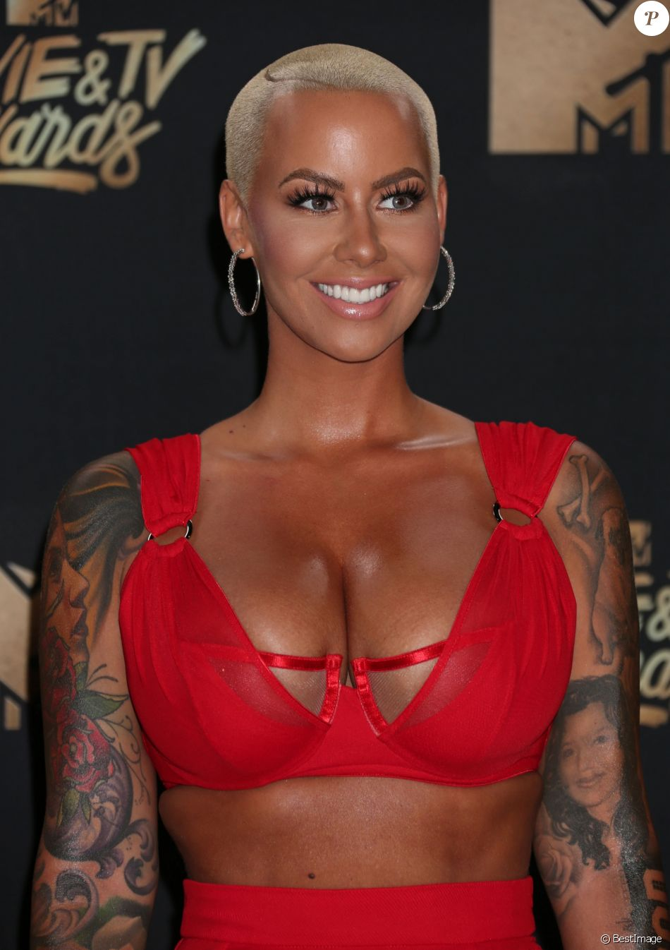 Amber Rose lors des ''2017 MTV Movie And TV Awards'' à Los ...