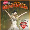 ffiche de Britney Spears pour sa tournée Circus Tour 2009