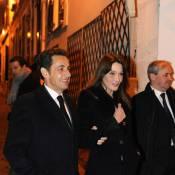 Carla Bruni et Nicolas Sarkozy... encore une sortie en amoureux  !