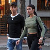 Cristiano Ronaldo comblé : Première photo avec Georgina et l'un de ses jumeaux
