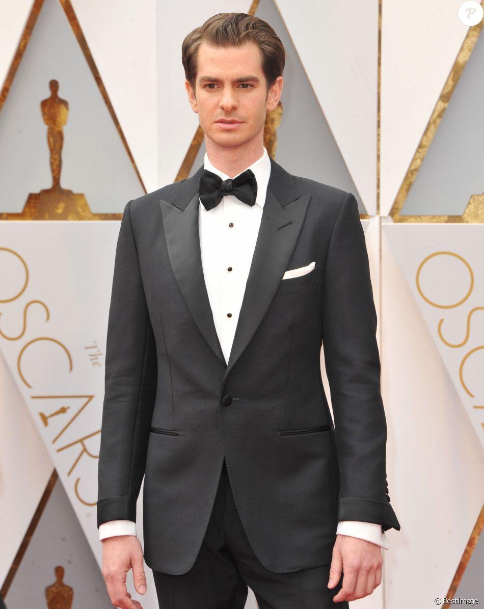 Andrew Garfield - Arrivées des célébrités à la 89e cérémonie des Oscars au Hollywood & Highland Center à Hollywood le 27 février 2017.