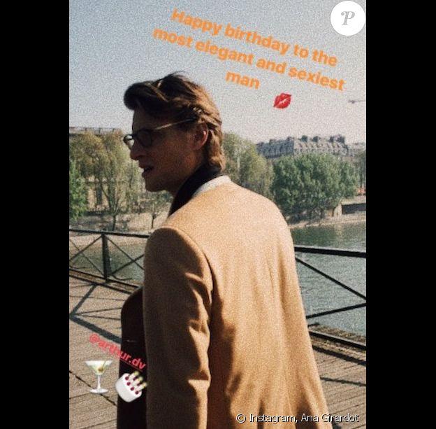 Ana Girardot fête les 29 ans d'Arthur de Villepin sur Instagram.