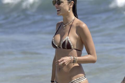 Alessandra Ambrosio torride à la plage : elle s'affiche toujours plus hot...
