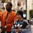 Exclusif - Blac Chyna fait du shopping avec un inconnu qui serait son nouveau compagnon étant donné qu'ils sont en train d'acheter des meubles ensemble. Blac Chyna est apparemment définitivement séparée de son ex fiancé Rob Kardashian à Los Angeles le 19 février 2017.