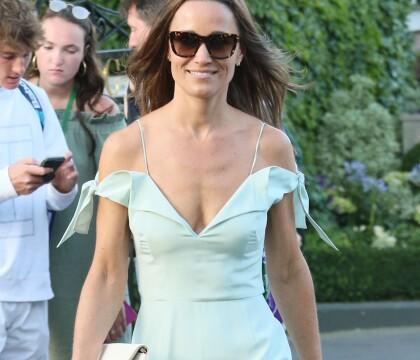 Pippa Middleton : Ultra-décolletée mais recalée à Wimbledon
