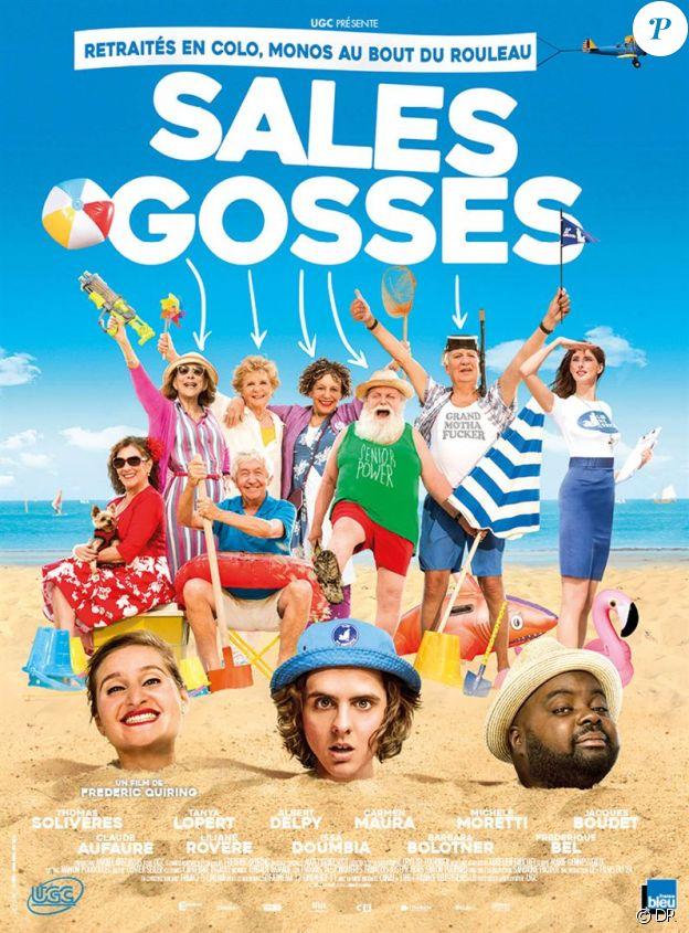 Affiche du film Sales Gosses, en salles le 19 juillet 2017