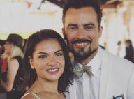 Damien Sargue a épousé sa chérie Emilie : Tendre photo du mariage