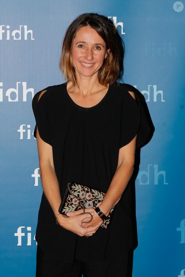 Exclusif - Alexia Laroche-Joubert - Soirée annuelle de la FIDH (Fédération Internationale des ligues de Droits de l'Homme) à l'Hôtel de Ville à Paris, le 8 décembre 2014.