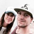 Renaud Lavillenie et Anaïs Poumarat se sont fiancés et attendent leur premier enfant en 2017. Photo Instagram Anaïs Poumarat, été 2016.