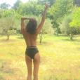 Valérie Bègue topless. Juillet 2017.