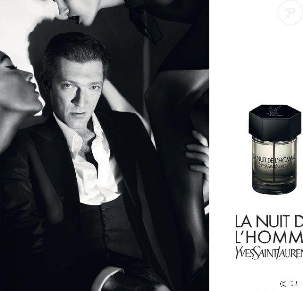Vincent Cassel pour La Nuit de L'Homme d'Yves Saint Laurent