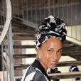 """Alicia Keys arrivant au défilé de mode """"Rick Owens"""", collection prêt-à-porter Automne-Hiver 2017-2018 à Paris, le 2 Mars 2017.© CVS/Veeren/Bestimage"""