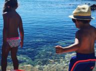 """Alessandra Sublet, maman heureuse en """"escale de rêve"""" avec Charlie et Alphonse"""