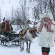 Mette-Marit et Haakon de Norvège ont entrepris un périple de deux jours dans le comté de Finnmark, région norvégienne arctique... Le prince héritier a droit à un traîneau pour lui tout seul. Trop corpulent ? Il faudrait demander au renne...