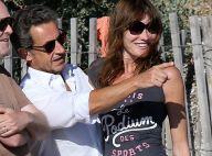"""Carla Bruni-Sarkozy: """"Je suis assez malheureuse loin de mon mari et des enfants"""""""