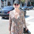 Exclusif - Sharon Stone à la sortie d'un opticien à Beverly Hills, le 23 mars 2017