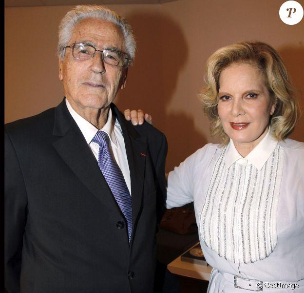 Charley Marouani et Sylvie Vartan en novembre 2011 à la Salle Pleyel à Paris. L'emblématique impresario est mort à 90 ans le 29 juillet 2017.