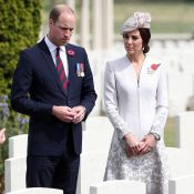 Kate Middleton et le prince William recueillis à la mémoire des disparus à Ypres