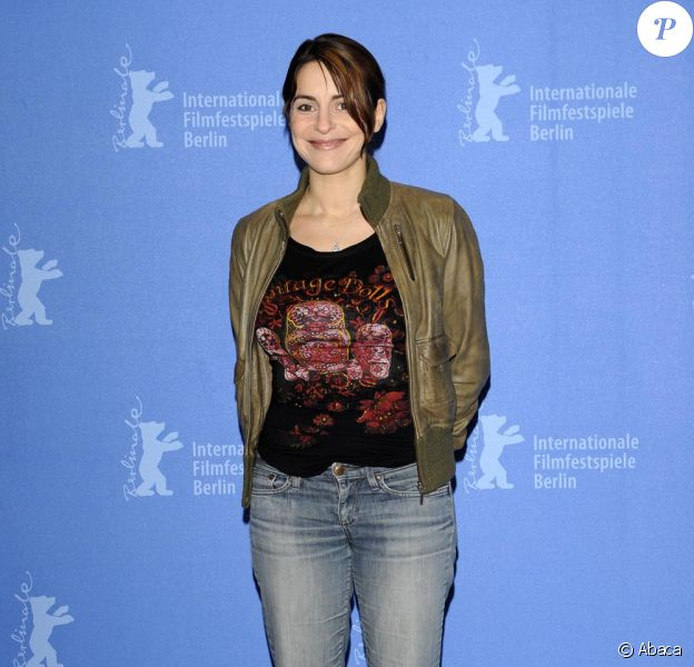 Audrey Dana Lors du Festival de Berlin